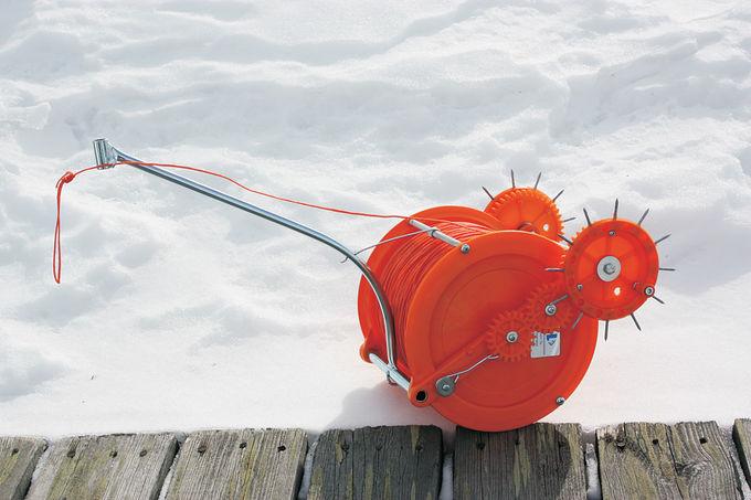 Как сделать устройство для установки сетей под лед